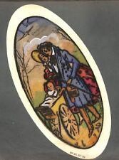 """ART DECO """" DESSUS BOITE DRAGEES BOISLIVEAU LA ROCHE/YON """" DESSIN BARKOFF 1925"""