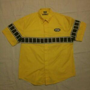 Vintage Yamaha Motorcycle 50th Anniversary Factory Racing Team Shirt Yellow XXL