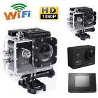 Black 1080P WIFI 12MP Waterproof SJ4000 HD Helmet Sport Action Video Camera