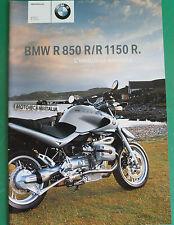 BMW R850 R R1150 R  CATALOGO DEPLIANT PROSPEKT BROCHURE RECLAME  PUBBLICITA 1