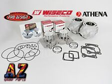 Banshee 350 Athena 400cc 68 Big Bore Cylinders WISECO Pistons Pro Design Domes