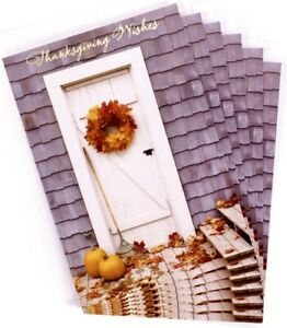 Thanksgiving Day- Hallmark Thanksgiving Cards Assortment, Fall Icons