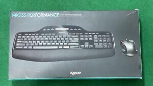 Logitech MK735 Performance Wireless Combo MK710 Keyboard & M510 Mouse