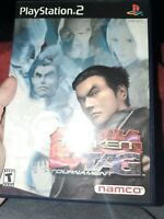 TEKKEN TAG TOURNAMENT PS2 Sony PlayStation 2 TESTED Complete VIDEO GAME