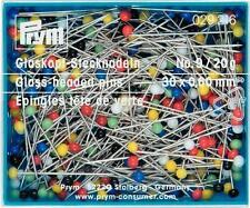 029157 Glaskopfnadeln ST 9 bunt 0,60 x 30 mm