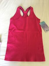 Ivivva Warp To The Future Tank Racerback Jeweled Magenta Size 14 Lululemon Sz 4