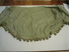 Waverly Formal Embellished Tab Top Lined Ascot Capulet Sage Green Valance NEW