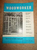 Woodworker August 1961 ~ Retro Vintage Illustrated Magazine + Advertising
