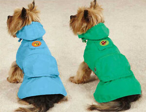 DOG RAIN COAT JACKET PET WATERPROOF RAINCOAT Flutter Bugs Lady Bug Bumble Bee