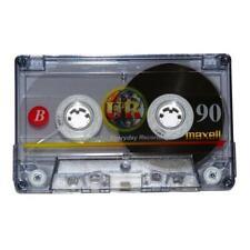 60 x Maxell UR90 Audio Blank Recordable Cassettes - Bulk 60 Pack - 90 mins