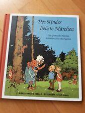 Des Kindes liebste Märchen      4 Grimmsche Märchen / Bilder Fritz Baumgarten