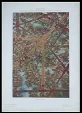 PLAFOND, CESARE LAURENTI -1910- RESTAURANT STORIONE PADOUE