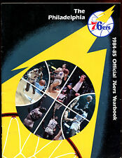 1984/1985 NBA Basketball Philadelphia 76'ers Yearbook EX