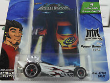HOT WHEELS 1/64 ACCELERACERS POWER BOMB 1 OF 9 NEW IN PACK