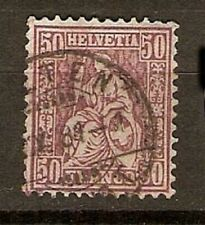 Switzerland Sc 67 FULL CDS OLTEN 1881 FVF