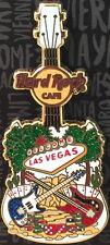 Hard Rock Cafe LAS VEGAS STRIP 2016 City Tee T-Shirt GUITAR Series V15 PIN 87496