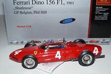 1/18 Ferrari 156 F1 'Sharknose' #4 Phil Hill Belgien CMC M-070