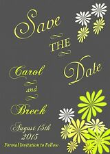 Wedding, Save the Date, Invitations, Save the Date Cards, Bridal Shower