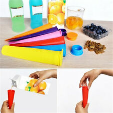 Silicone Popsicle Mold ice Lolly Mold Ice Pop Maker Snack Ice Cream Mold DIY