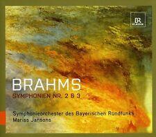 Mariss Jansons, J. Brahms - Symphonies Nos 2 & 3 [New SACD] Hybrid SACD