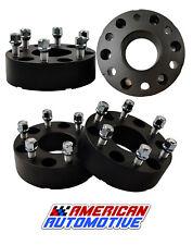 "4x 2"" Wheel Spacers Adapters 6x5.5 for Chevy Silverado 1500 Suburban GMC Trucks"