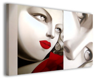 Quadri moderni famosi Tamara de Lempicka vol XII stampa su tela canvas arredo