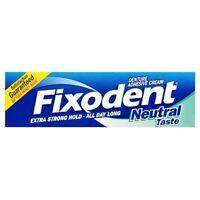 Fixodent Neutral Denture Adhesive Cream 47ml