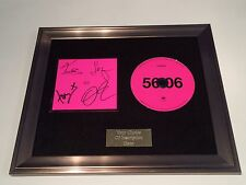 PERSONALLY SIGNED/AUTOGRAPHED KASABIAN 48:13 DELUXE FRAMED CD PRESENTATION.56:06