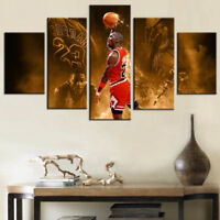 Home Decor Wall Picture Black Panther Chadwick Boseman In Field With Panthers