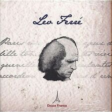 LEO FERRE' - Douce France - CD DIGIPACK 2009 SIGILLATO SEALED