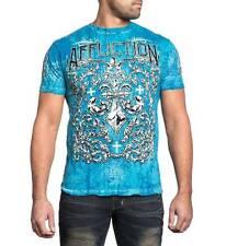 """Men's AFFLICTION """"Integrate Line"""" Reversible Fleur-de-Lis Graphic Print T-Shirt"""