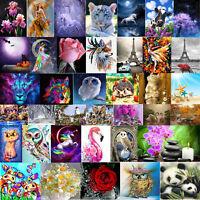 Animal 5D Diamond Needlework Cross Stitch Kit Embroidery Painting Home Decor DIY