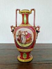 Vase Amphore Porzellan Alt Wien Augarten Historismus Gebraucht