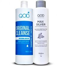 QOD MAX SILVER  KERATIN SMOOTHING Treatment KIT