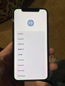 iphone  X 256gb verizon unlocked