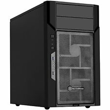Silverstone KL06B Micro-ATX, Mini-DTX, Mini-ITX Mid Tower Computer Case