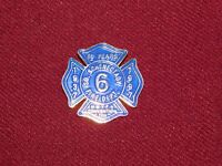 VINTAGE PIN PINBACK 1937 1997 SO SCHENECTADY FIRE DEPT 6 CONVENTION