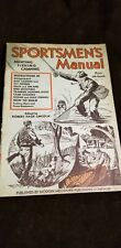 Vintage Sportsman's Manual 1936 Vintage Hunting VintageFishing Nice Condition 10