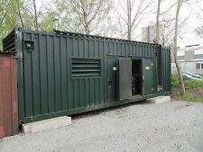 "BHKW-MAN-Aggregat-D2842LE213 430kW-elektrisch im 30""Contaimer"