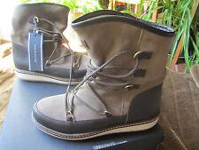 Tommy Hilfiger Wooli Boots Stiefel Stiefeletten Leder Wildleder braun 41 NEU e930179ce3