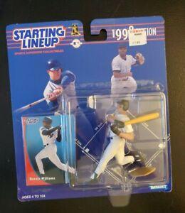 BERNIE WILLIAMS - NY Yankees - Kenner Starting Lineup SLU MLB 1998 Figure & Card