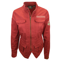Harley-Davidson Women's Red Free Spirit Lightweight L/S Full Zip Jacket