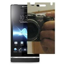 3pcs Mirror Screen Protector LCD Cover Guard For Sony Xperia S (LT26i)