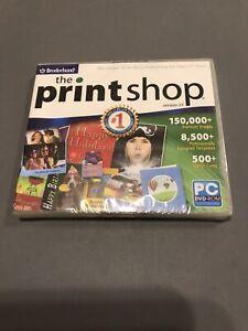 New! Broderbund The Print Shop Version 23 PC DVD Rom Desktop Publishing Software