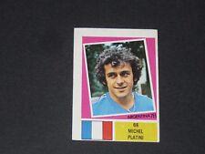 N°68 MICHEL PLATINI FRANCE AGEDUCATIFS FOOTBALL ARGENTINA 78 WM 1978 PANINI