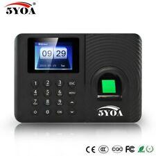 Biometric Fingerprint Time Clock Attendance Original System Employee Electronic