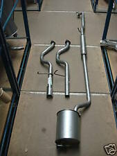 Daihatsu Sirion 1.3 Full Exhaust System 2wd Front Middle Rear Silencer 10/00-