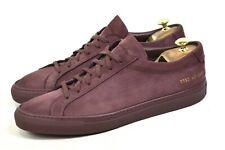 COMMON PROJECTS Achilles Sneakers Low shoes mens UK9 / US10 / EU43 Wine 2092