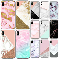 Pink Marble Ultra Thin Soft TPU Phone Case Cover for Iphone 5 5S 6 6S 7 8 PLUS X