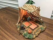 Fontanini Kings Gold Tent #50254 5 In. Scale Roman Heirloom Nativities1997 Rare